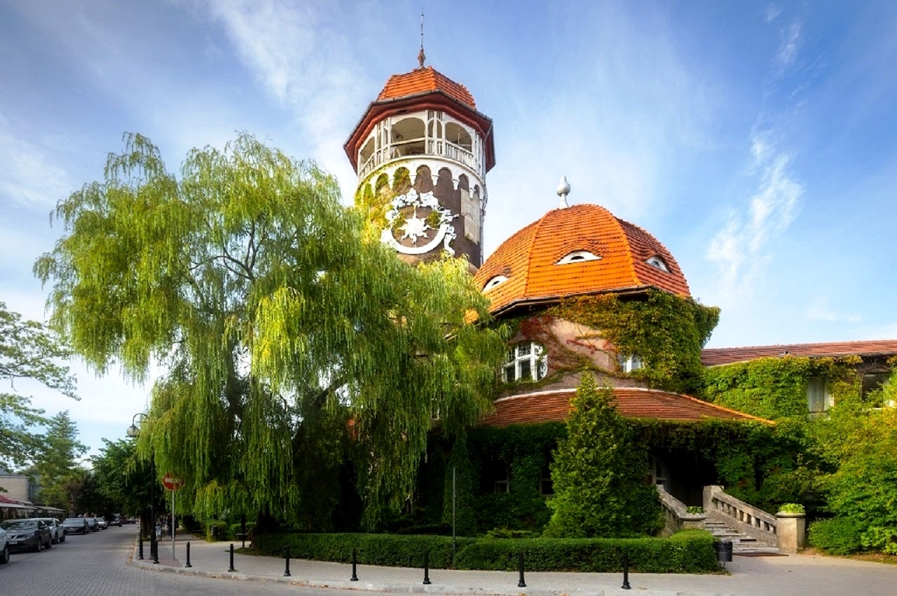 Водонапорная башня «Раушен»