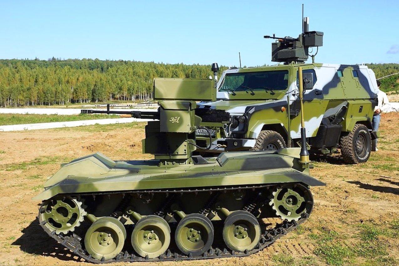 Роботы как новейшее оружие России