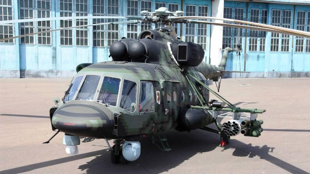 модернизированный вертолет ВКС России