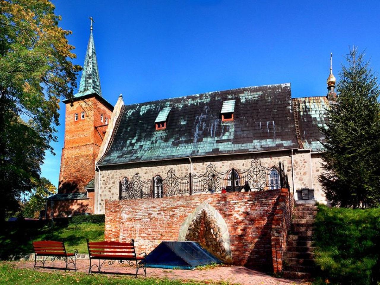 Кирха Юдиттен или Свято-Никольский собор в Калининграде