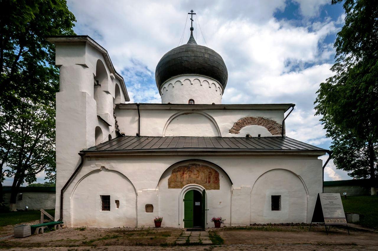 Собор Преображения ГосподняСпасо-Мирожскогомонастыря в Пскове